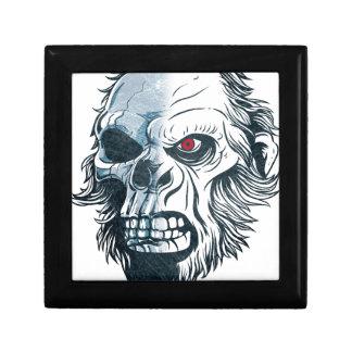 Wellcoda Gorilla Skull Head Monkey Face Gift Box