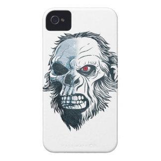 Wellcoda Gorilla Skull Head Monkey Face iPhone 4 Cases