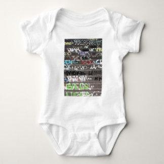 Wellcoda Graffiti Vandal Print Urban Life Baby Bodysuit