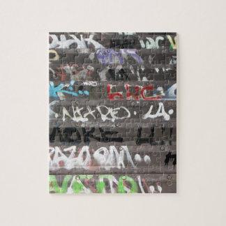 Wellcoda Graffiti Vandal Print Urban Life Jigsaw Puzzle