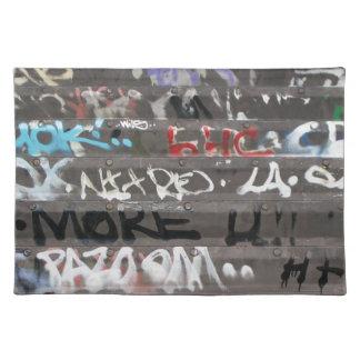 Wellcoda Graffiti Vandal Print Urban Life Placemat