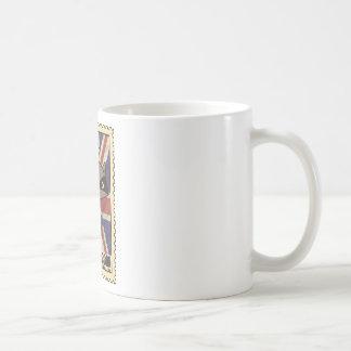Wellcoda Great Britain Raccoon GB Animal Coffee Mug