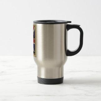Wellcoda Great Britain Raccoon GB Animal Travel Mug