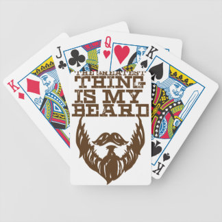 Wellcoda Greatest Beard Man Hipster Swag Bicycle Playing Cards