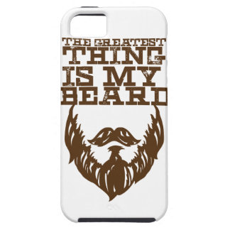 Wellcoda Greatest Beard Man Hipster Swag Case For The iPhone 5