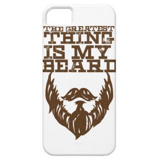 Wellcoda Greatest Beard Man Hipster Swag iPhone 5 Cases