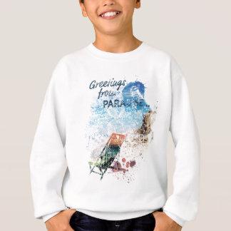 Wellcoda Greetings Paradise Sunshine Love Sweatshirt