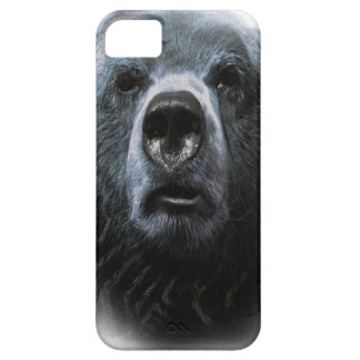 Wellcoda Grizzly Bear Confused Funny Face Case For The iPhone 5