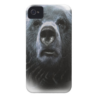 Wellcoda Grizzly Bear Confused Funny Face iPhone 4 Case-Mate Case
