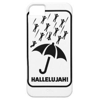 Wellcoda Hallelujah Rain Fall Men Drop Barely There iPhone 5 Case