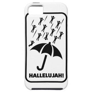 Wellcoda Hallelujah Rain Fall Men Drop iPhone 5 Covers