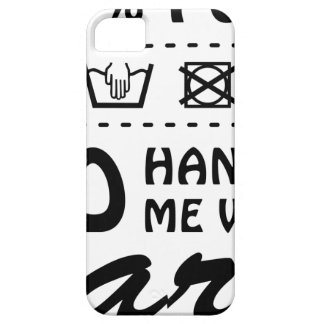 Wellcoda Handle Me With Care 100% Pure Fun iPhone 5 Cases