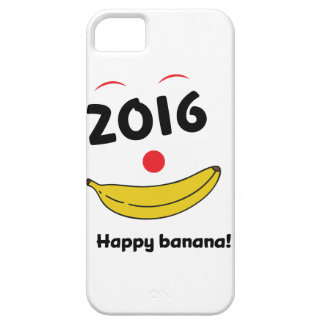 Wellcoda Happy Banana Monkey Celebration Barely There iPhone 5 Case