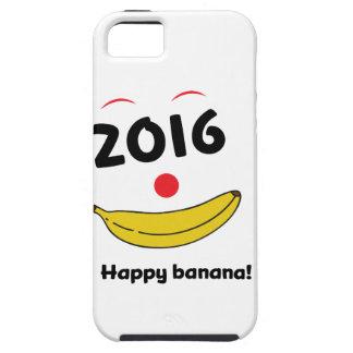 Wellcoda Happy Banana Monkey Celebration Tough iPhone 5 Case