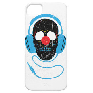 Wellcoda Headphone Skull Face Clown Nose iPhone 5 Cover