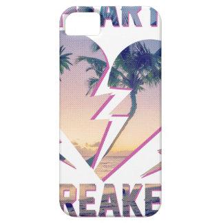 Wellcoda Heart Breaker Lover Palm Tree iPhone 5 Covers