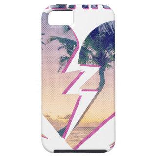 Wellcoda Heart Breaker Lover Palm Tree Tough iPhone 5 Case
