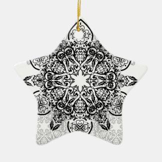Wellcoda Hipster Swag Reindeer Deer Stag Christmas Ornament