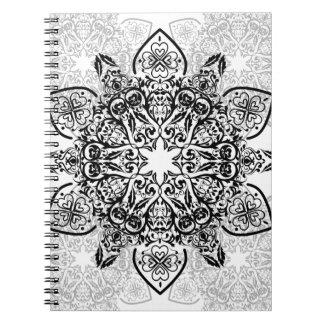 Wellcoda Hipster Swag Reindeer Deer Stag Spiral Notebook