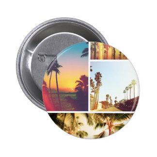 Wellcoda Holiday Summer Fun Sunshine Break 6 Cm Round Badge