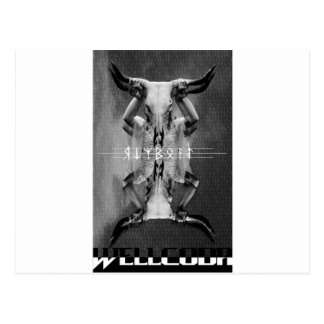 Wellcoda Horror Animal Mask Cult Leader Postcard