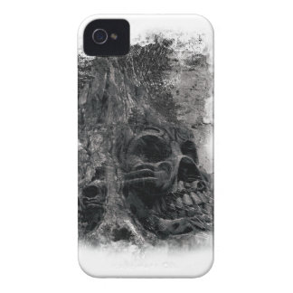 Wellcoda Horror Skull Death Scary Evil iPhone 4 Case-Mate Case