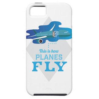 Wellcoda How Airplane Fly Jet Sky Bird Tough iPhone 5 Case