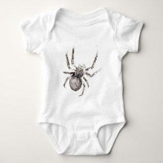 Wellcoda Huge Spider Tarantula Massive Baby Bodysuit