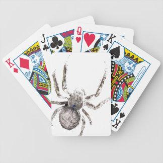 Wellcoda Huge Spider Tarantula Massive Bicycle Playing Cards