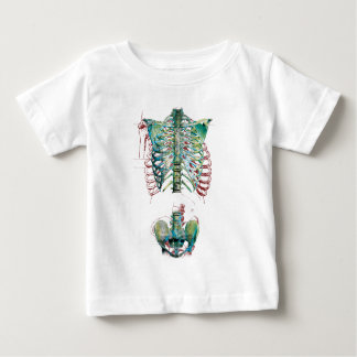 Wellcoda Human Body Rib Cage Skeleton Fun Baby T-Shirt