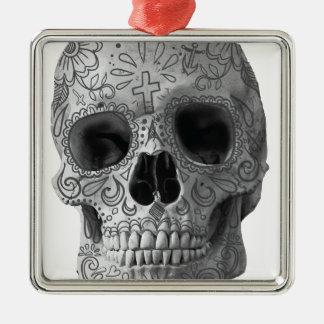 Wellcoda Human Candy Skull Death Head Christmas Ornament
