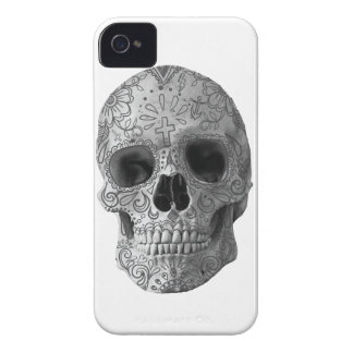 Wellcoda Human Candy Skull Death Head iPhone 4 Case-Mate Case