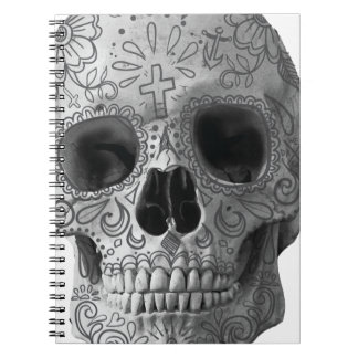 Wellcoda Human Candy Skull Death Head Notebook