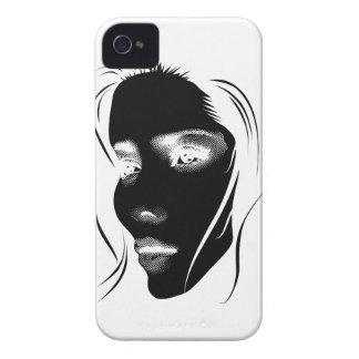 Wellcoda Human Face Beautiful Dream Girl iPhone 4 Cover
