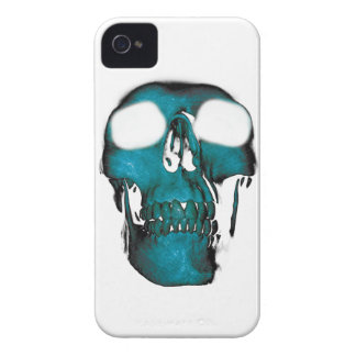 Wellcoda Human Head Horror Fun Creep Mask iPhone 4 Cases