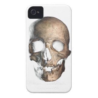 Wellcoda Human Skull Head Face Creep Mask iPhone 4 Case
