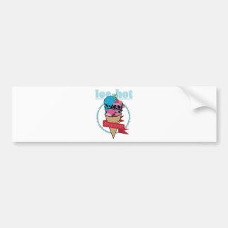 Wellcoda Ice Hot Summertime Cherry on Top Bumper Sticker