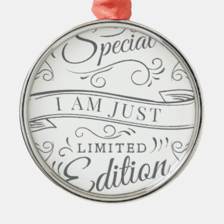 Wellcoda I'm Not Just Special Seriously Christmas Ornament
