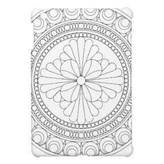 Wellcoda Indian Style Pattern Crazy Print iPad Mini Case