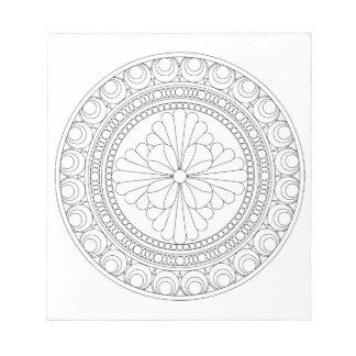 Wellcoda Indian Style Pattern Crazy Print Notepad