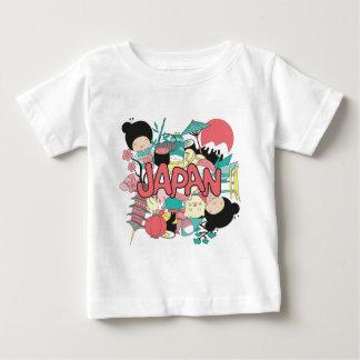 Wellcoda Japan Cartoon Culture Anime Life Baby T-Shirt