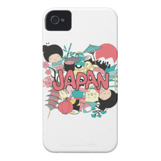 Wellcoda Japan Cartoon Culture Anime Life iPhone 4 Cover