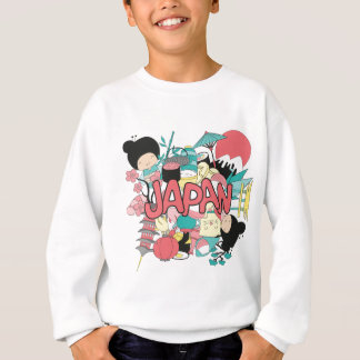 Wellcoda Japan Cartoon Culture Anime Life Sweatshirt