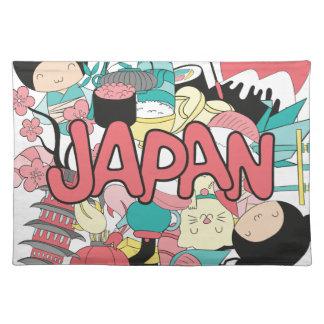 Wellcoda Japan Culture Asia Parade Life Placemat