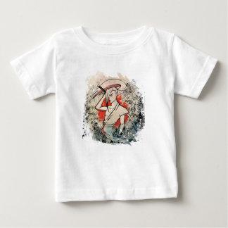 Wellcoda Japan Samurai Sword Fight Attack Baby T-Shirt