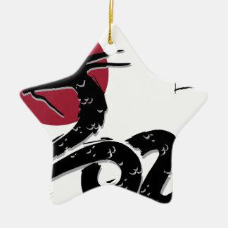 Wellcoda Japanese Dragon Myth Monster Fun Christmas Ornament
