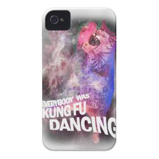 Wellcoda Kung Fu Dancing Lyric Wild Cat iPhone 4 Covers
