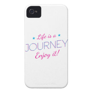 Wellcoda Life Is A Journey Fun Enjoy It iPhone 4 Covers