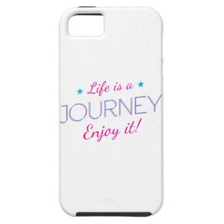 Wellcoda Life Is A Journey Fun Enjoy It iPhone 5 Cases