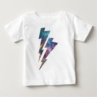 Wellcoda Lightning Strike Space Cosmos Baby T-Shirt